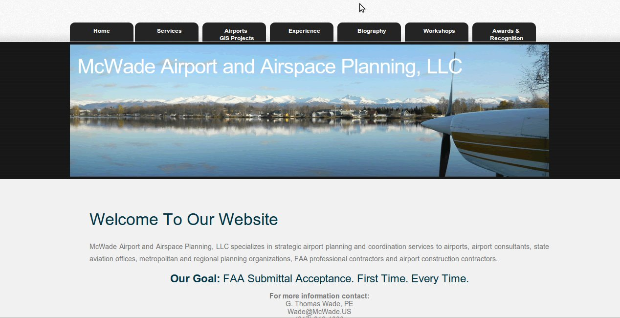 McWade Airport and Airspace Planning
