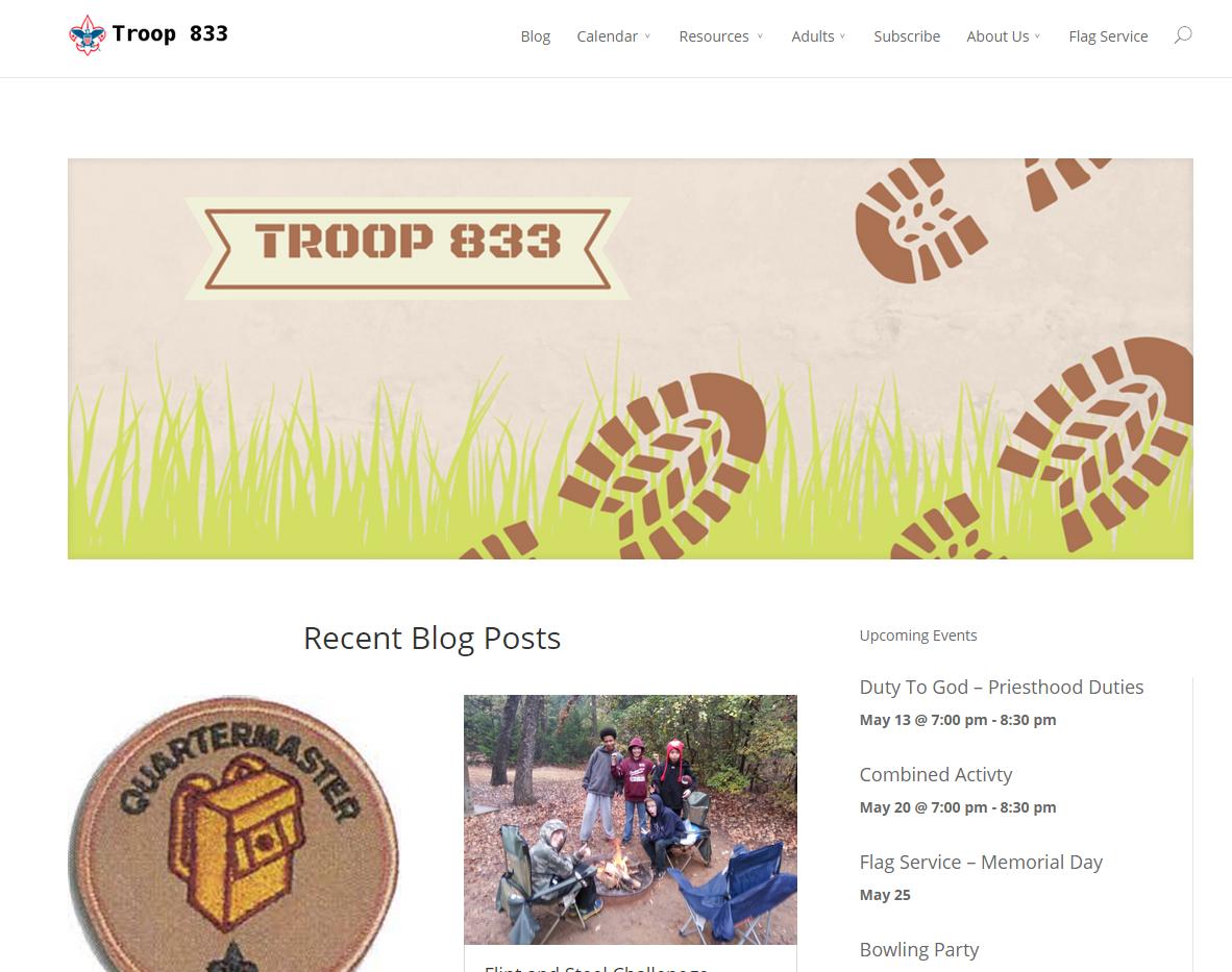 Troop833.com